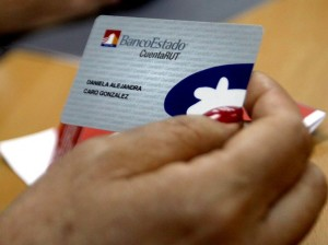 Banco Estado card